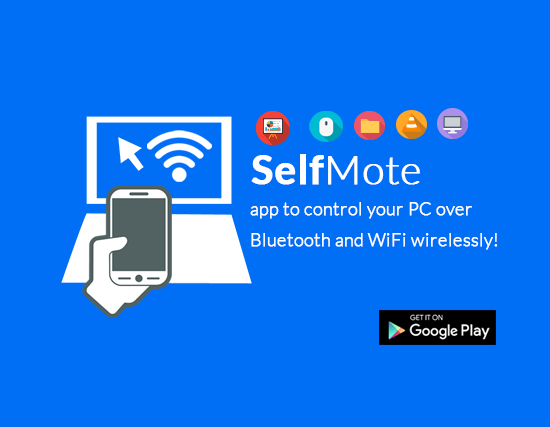 SelfMote Android app